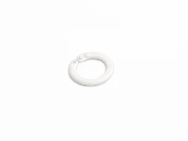 Heftringe 14 mm, aus Kunststoff, weiß