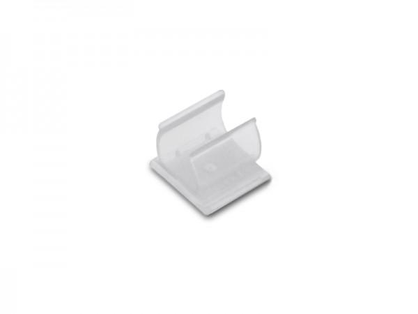 Stifhalter aus Kunststoff, transparent