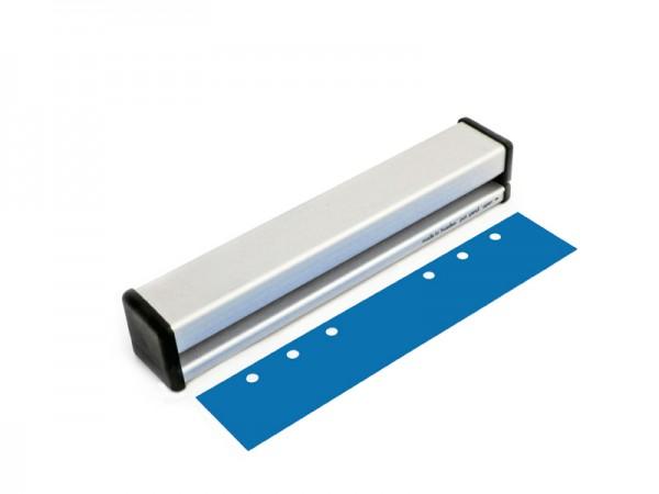 6-fach Locher aus Aluminium für Ringabstand 19-19-70-19-19