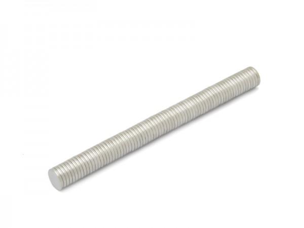Magnete, Ø 10 x 1,5 mm