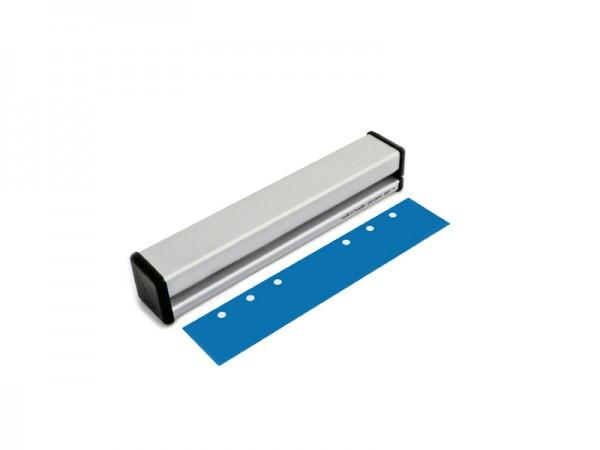 6-fach Locher aus Aluminium für Ringabstand 19-19-51-19-19