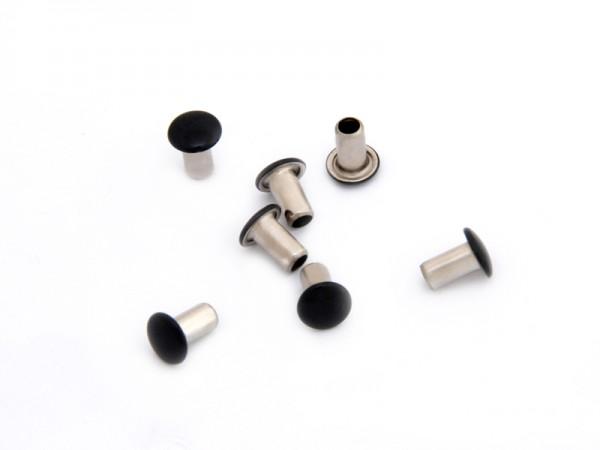 Maschinen-Hohlniete 1-teilig, 8 mm, schwarz