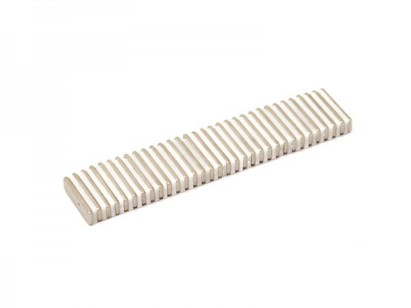 Magnetverschlussplatten 20 x 5 x 1.5 mm
